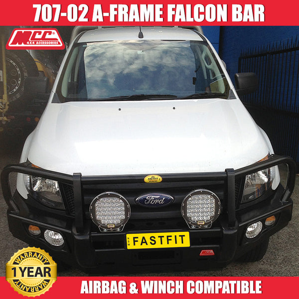 MCC 707-02 A-FRAME Falcon Bull Bar to suit Ford Ranger PX 2012 -2015