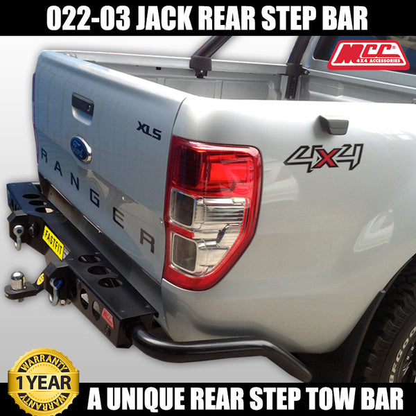 MCC 022-03 Jack Rear Bar to suit Ford Ranger PX MKI 09/2011-07/2015