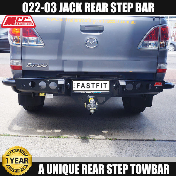 MCC 022-03 Jack Rear Bar to suit MAZDA BT50 10/11-ON