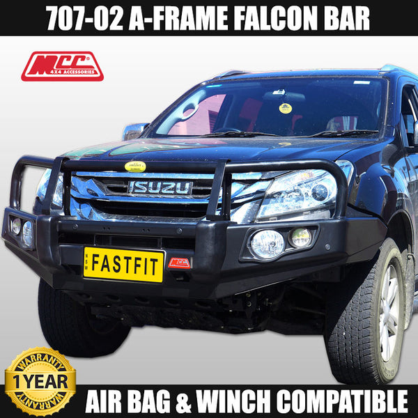 MCC 707-02 A-FRAME Falcon Bull Bar to suit Isuzu MU-X 11/2013-2016