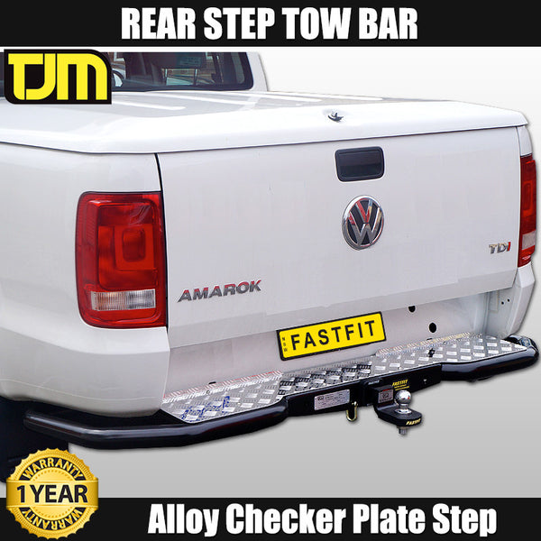 TJM Rear Step Tow Bar to Suit Volkswagon Amarok - 2010 ON