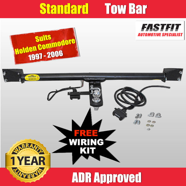 FastFit Standard Tow Bar To Suit Holden Commodore VX Sedan - 1997 TO 2006