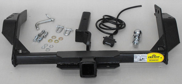 FastFit Heavy Duty Tow Bar To Suit Nissan Navara D40 Dual Cab With Step - 10/2009 ON
