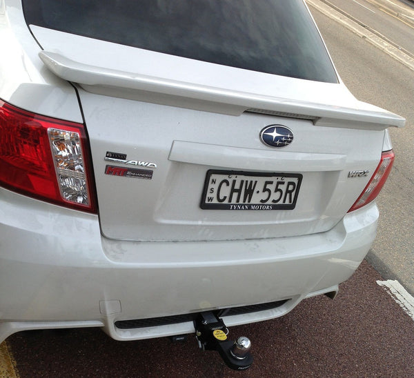 Hayman Reese Heavy Duty Tow Bar To Suit Subaru Suburu Impreza Sedan - 04/2008 - 09/2012