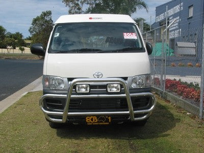 ECB Polished Alloy Type 8 Profile Bar to suit TOYOTA Hiace  03/2005-02/2014