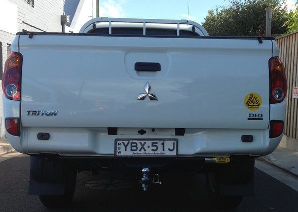 FastFit Standard Tow Bar To Suit Mitsubishi 4DR Dual Cab Triton MN with No Step - 10/2009 ON