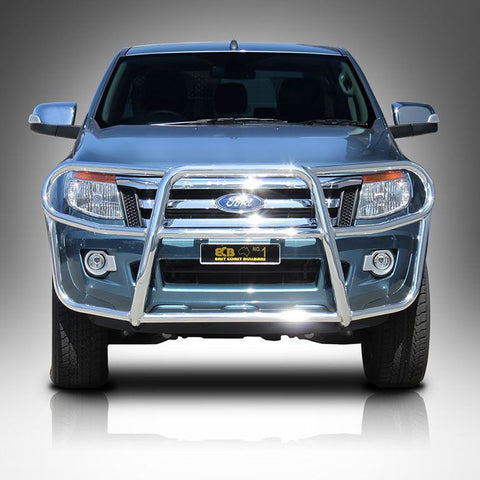 ECB Polished Alloy Type 8 Profile Bar To Suit Ford Ranger 4wd + 2wd High Rise - 10/2011 ON
