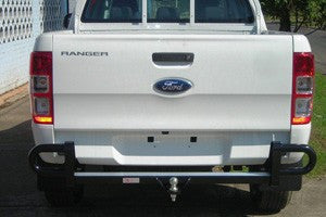 Formula Steel Black Rear Protection Bar To Suit Ford Ranger - 11/2011 ON