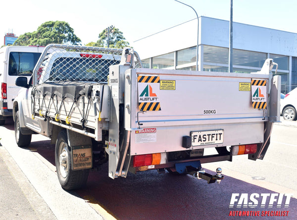Fastfit Heavy Duty Tow Bar To Suit Holden Rodeo RA Tray Body With No Step 2WD/4WD