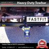 TrailBoss Heavy Duty Tow Bar To Suit Nissan Patrol GU Y61 Cab Chassis Rear Leaf Springs 4/1999 - ON