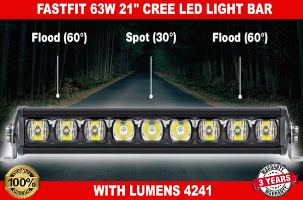 "63W 21"" inch CREE LED LIGHT BARS"