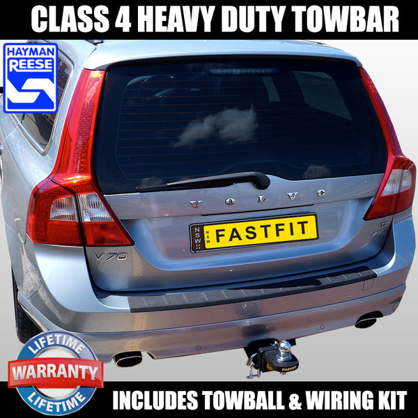 Hayman Reese Heavy Duty Towbar to suit Volvo V70 Wagon CL4 04/2000-11/2007