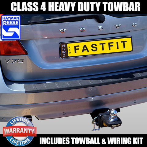 Hayman Reese Heavy Duty Towbar To Suit Volvo V70 Wagon - 12/2007 ON