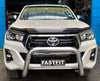 All Bars and Racks 3 inch Alloy Nudge Bar to suit TOYOTA HILUX 2016