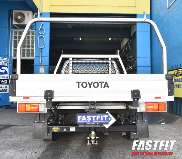 TRAILBOSS Heavy Duty Towbar to suit TOYOTA Hilux 2WD & 4WD Cab Chassis, No Step 10/2015-ON