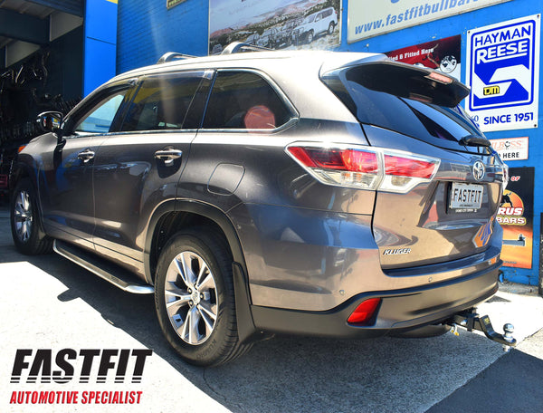 TRAILBOSS Heavy Duty Towbar to suit TOYOTA KLUGER 03/2014-ONWARDS