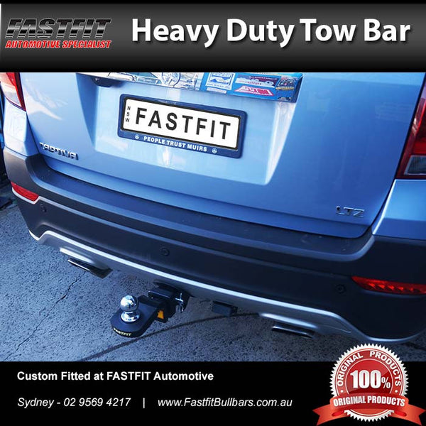 Fastfit Heavy Duty Tow Bar To Suit Holden Captiva