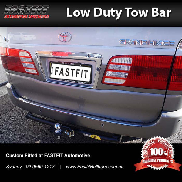 FastFit Standard Tow Bar to Suit Toyota Grand Hiace