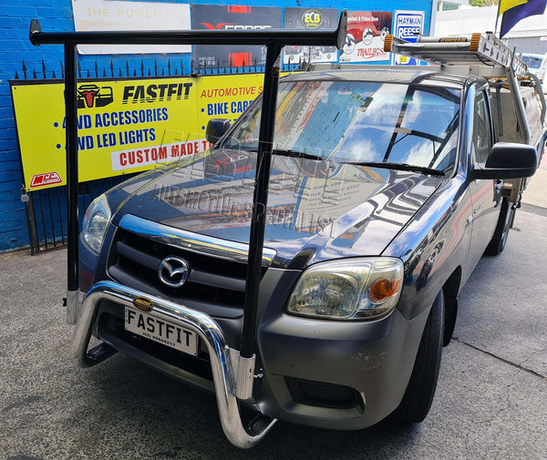 FastFit NUDGE BAR AND H-FRAME RACK TO SUIT ON MAZDA BT50