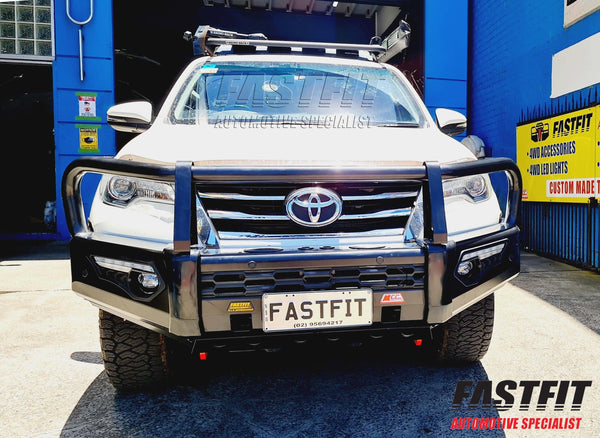 MCC 808-02 Phoenix A-Frame Bullbar to suit TOYOTA FORTUNER