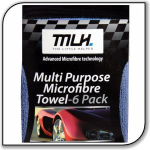 MULTI PURPOSE MICROFIBRE TOWEL 6 PACK