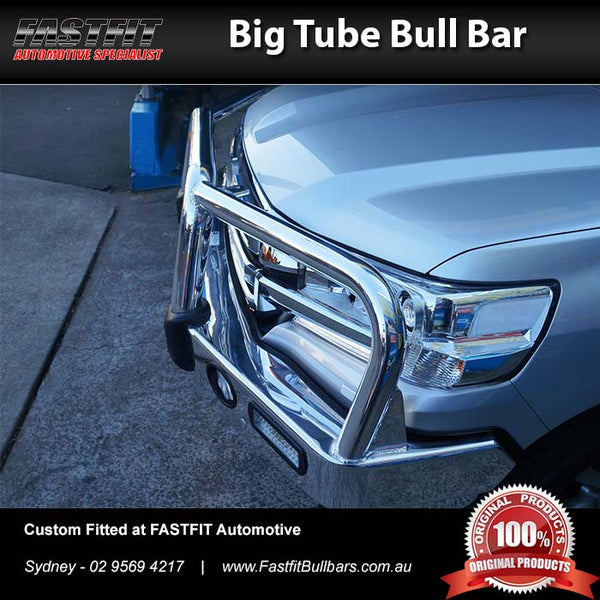 ECB Big Tube Bull Bar to suit Toyota Land Cruiser 200 2016-ON