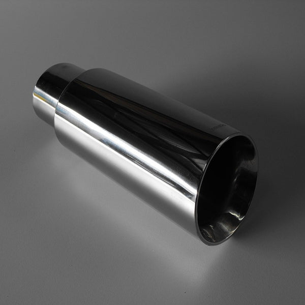304 STAINLESS STEEL 3'' ANGLED EXHAUST TIP