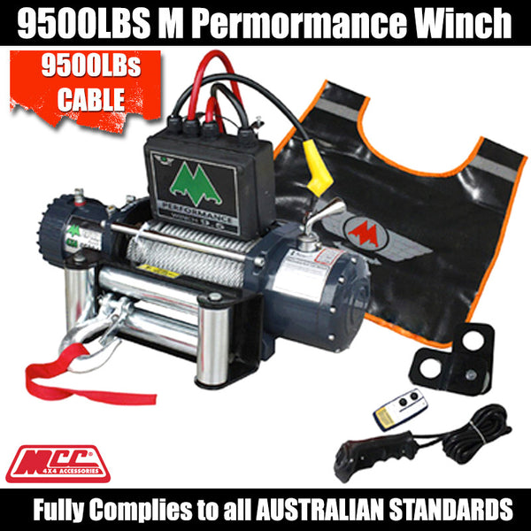 MCC4x4 9500LB M Performance Winch - Cable