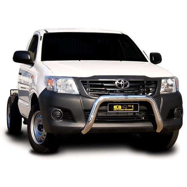 ECB Polished Alloy Nudge Bar to suit Totoya Hilux 2WD 09/2011-06/2015