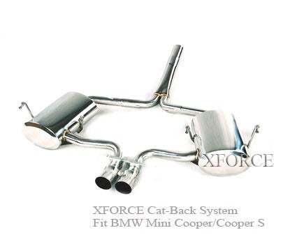 MINI COOPER S 2001-2006 - CAT BACK SYSTEM FOR THE MINI COOPER S 2001-2006