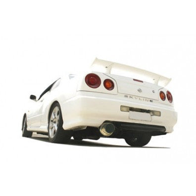 NISSAN SKYLINE R34 GTT-T 1998-2003 4-DOOR SEDAN - 3.5'' ANGLE-OUT CANNON STYLE TURBO-BACK SYSTEM