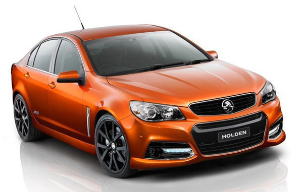TWIN 2.5'' CAT-BACK IN MILD STEEL SYSTEM HOLDEN/HSV VE - HOLDEN COMMODORE VE V8 SEDAN/GTS