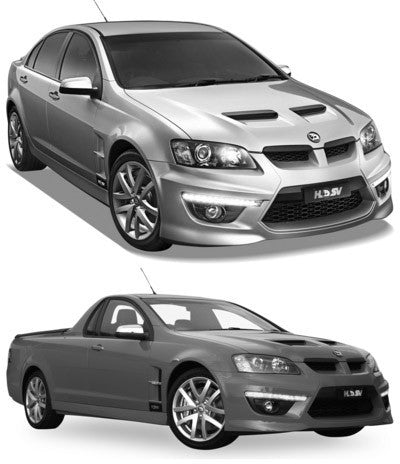 HOLDEN/HSV VE V8 UTE - TWIN 3'' CAT-BACK IN MILD STEEL SYSTEM