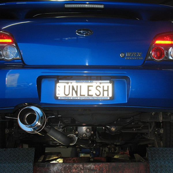SUBARU WRX SEDAN 2009 ONWARDS -- 3'' CAT-BACK MILD STEEL SYSTEM
