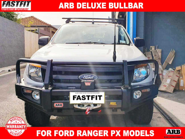 ARB Deluxe Bullbar with Winch & Aerial Mounts to suit Ford Ranger PX Models