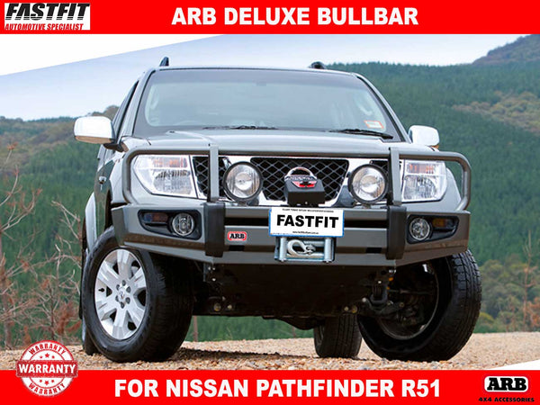ARB Deluxe Bullbar to suit Nissan Pathfinder R51 2005-ON