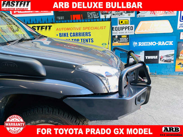 ARB Deluxe Bullbar to suit Toyota Prado GX Models 06/2009-ON