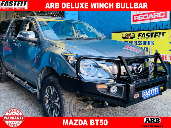 ARB Deluxe Winch Bullbar to suit MAZDA BT50 2011-2015
