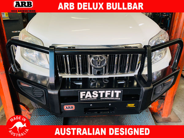 ARB Deluxe Bullbar to suit Toyota Prado 150 Models SX, GX, GXL 2009-2017