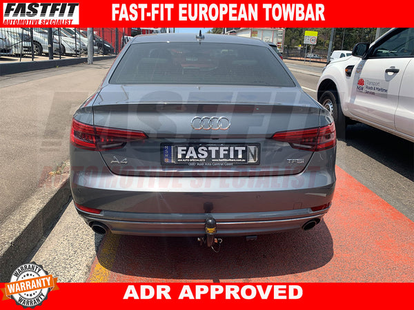 FAST-FIT EUROPEAN TOWBAR TO SUIT ON AUDI A4 2015