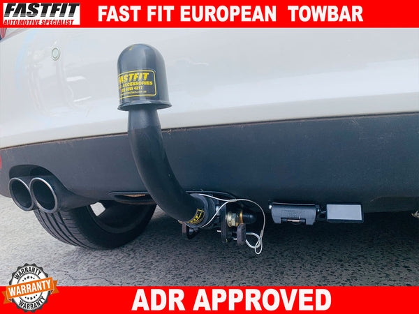 FAST-FIT EUROPEAN TOWBAR TO SUIT ON AUDI A1