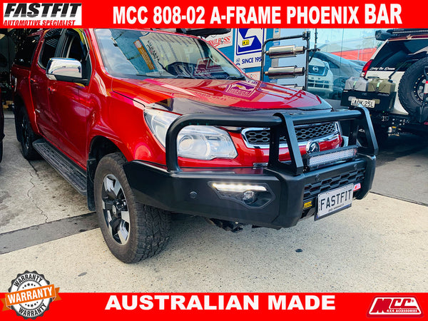 MCC 808-02 Phoenix A-Frame Bullbar to suit Holden Colorado 2019
