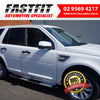 KINGSLEY STEPS to suit ROVER Freelander