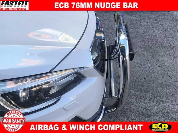 ECB 76mm Nudge Bar to suit Subaru OUTBACK (MY 18-ON)