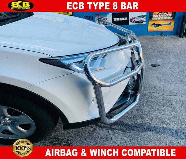 ECB Type 8 Bullbar to suit TOYOTA RAV4 2015 - On