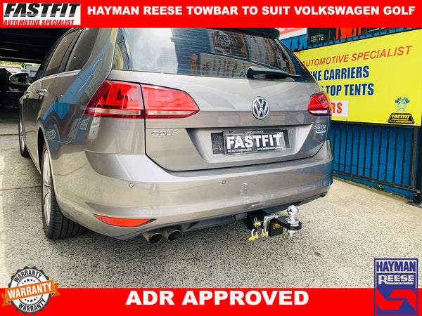 Hayman Reese Towbar to suit VOLKSWAGEN GOLF WAGON 2013 ON
