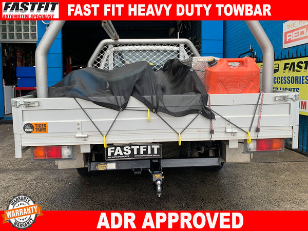FAST-FIT TOWBAR TO SUIT ON FORD RANGER/MAZDA BT50 2011-ON