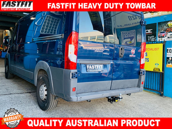 FASTFIT HEAVY DUTY TOWBAR TO SUIT ON FIAT DUCATO VAN 2007-ON