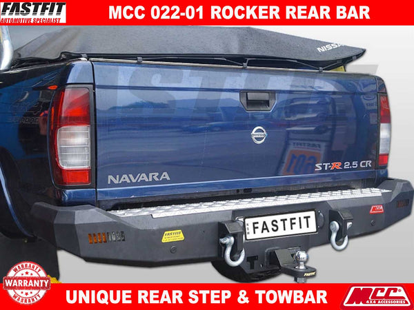 MCC 022-01 Rocker Rear Bar to suit Nissan Navara D22 01/1998-2015