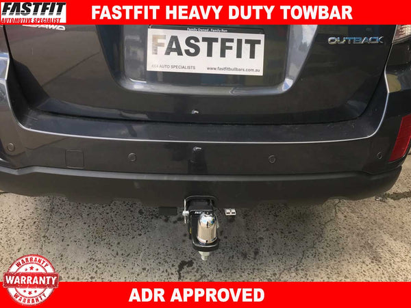 Fastfit Heavy Duty Towbar to suit Subaru OUTBACK MY-10 09/2009- 2014
